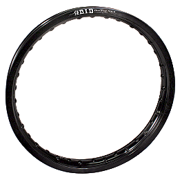 "DID ST-X Dirt Star Rear Rim 19"" - Black - 2002 Yamaha YZ125 DID 520 ERV3 X-Ring Chain - 120 Links"