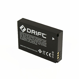 Drift Innovation HD Ghost Camera Battery - Drift Innovation HD Ghost Time Lapse