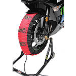 DMP Slingshot Tire Warmers - 110-120 / 190-195 - Dirt Bike Tire and Wheel Accessories