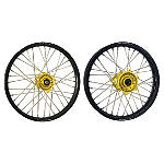 Yellow Hub-Black Rim