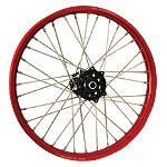 DNA Specialty Front Wheel 1.60X21 - Black/Red - Honda CR125 Dirt Bike Complete Wheels
