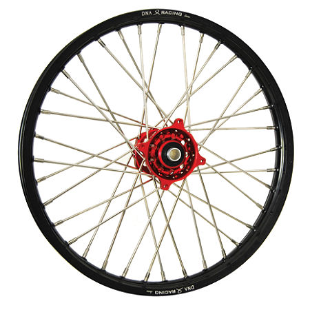 DNA Specialty Front Wheel 1.60X21 - Red/Black - Main