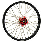 DNA Specialty Front Wheel 1.60X21 - Red/Black - Honda CR125 Dirt Bike Complete Wheels
