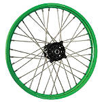 DNA Specialty Front Wheel 1.60X21 - Black/Green - DNA Specialty Dirt Bike Dirt Bike Parts