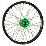 DNA Specialty Front Wheel 1.60X21 - Green/Black - DNA Specialty Dirt Bike Dirt Bike Parts