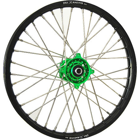 DNA Specialty Front Wheel 1.40x19 - Green/Black - Main