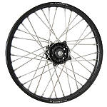 DNA Specialty Front Wheel 1.60X21 - Black/Black - Honda CR125 Dirt Bike Complete Wheels