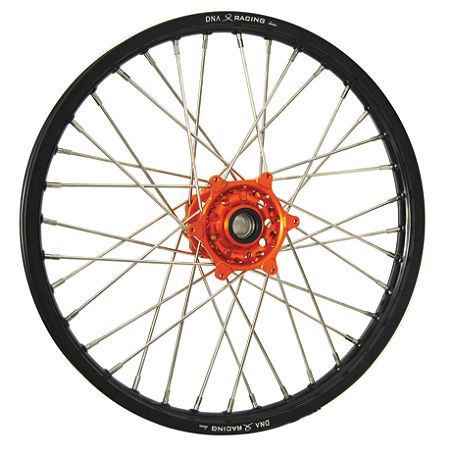 DNA Specialty Front Wheel 1.60X21 - Orange/Black - Main