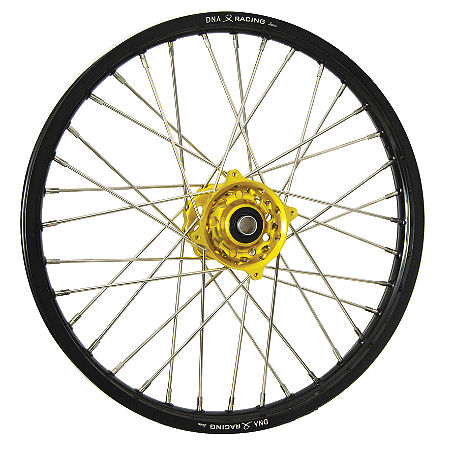 DNA Specialty Front Wheel 1.60X21 - Yellow/Black - Main
