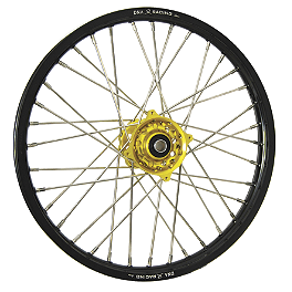 DNA Specialty Front Wheel 1.60X21 - Yellow/Black - DNA Specialty Rear Wheel 1.85X19 - Yellow/Black