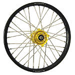 DNA Specialty Front Wheel 1.60X21 - Yellow/Black - DNA Specialty Dirt Bike Products