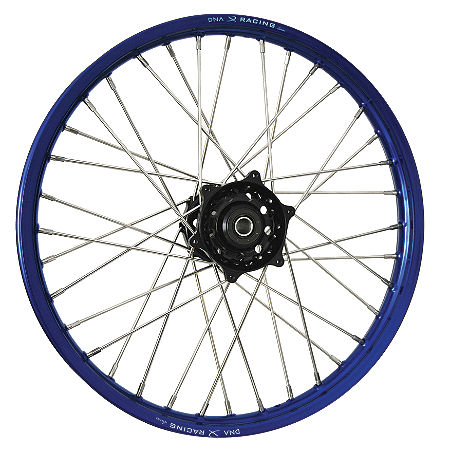 DNA Specialty Front Wheel 1.60X21 - Black/Blue - Main
