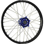 DNA Specialty Front Wheel 1.40x19 - Blue/Black - DNA Specialty Complete Wheels