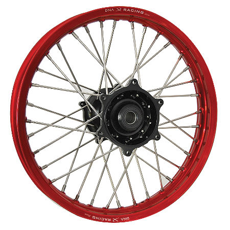 DNA Specialty Rear Wheel 1.85X19 - Black/Red - Main