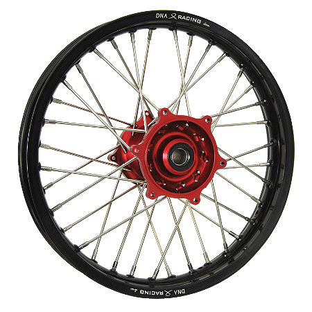 DNA Specialty Rear Wheel 1.85X19 - Red/Black - Main