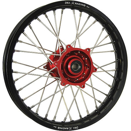 DNA Specialty Rear Wheel 1.85x16 - Red/Black - Main