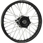 DNA Specialty Rear Wheel 2.15X19 - Black/Black - Dirt Bike Complete Wheels