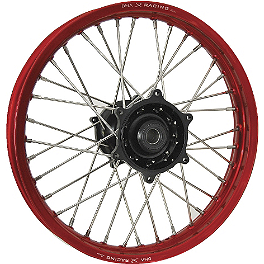 DNA Specialty Rear Wheel 2.15X19 - Black/Red - DNA Specialty Rear Wheel 2.15X19 - Red/Black