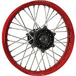 DNA Specialty Rear Wheel 2.15X19 - Black/Red - DNA Specialty Complete Wheels