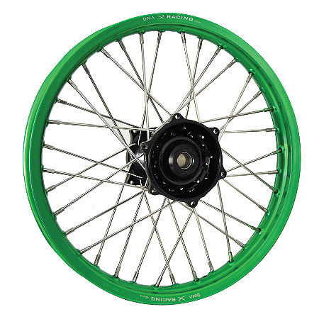 DNA Specialty Rear Wheel 2.15X19 - Black/Green - Main