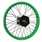 DNA Specialty Rear Wheel 2.15X19 - Black/Green - DNA Specialty Complete Wheels