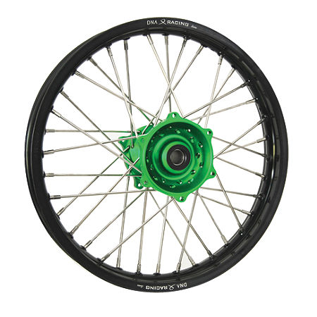 DNA Specialty Rear Wheel 2.15X19 - Green/Black - Main