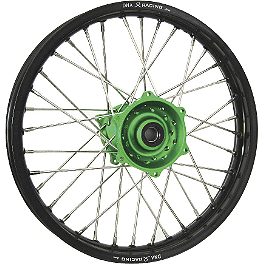 DNA Specialty Rear Wheel 1.85x16 - Green/Black - DNA Specialty Front Wheel 1.40x19 - Green/Black