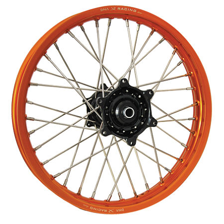 DNA Specialty Rear Wheel 2.15X19 - Black/Orange - Main
