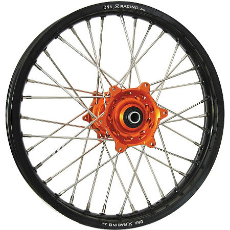 DNA Specialty Rear Wheel 1.85x16 - Orange/Black - Main