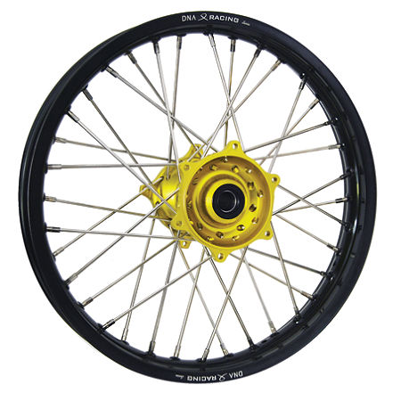 DNA Specialty Rear Wheel 1.85X19 - Yellow/Black - Main