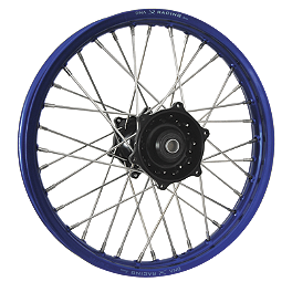 DNA Specialty Rear Wheel 2.15X18 - Black/Blue - 2005 Yamaha WR450F DNA Specialty Front Wheel 1.60X21 - Black/Black