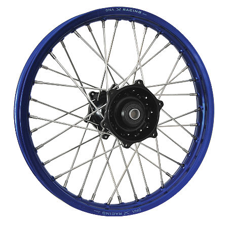DNA Specialty Rear Wheel 1.85X19 - Black/Blue - Main
