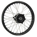 DNA Specialty Rear Wheel 1.85X19 - Black/Black - Honda CR125 Dirt Bike Complete Wheels