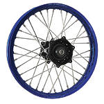 DNA Specialty Rear Wheel 1.85X19 - Black/Blue - Dirt Bike Complete Wheels