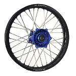DNA Specialty Rear Wheel 1.85X19 - Blue/Black - DNA Specialty Dirt Bike Dirt Bike Parts