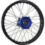 DNA Specialty Rear Wheel 1.85x16 - Blue/Black - Dirt Bike Complete Wheels