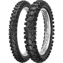 Dunlop 125 / 250F Tire Combo - 1977 Yamaha YZ125 Baja Designs Enduro Light Kit Option 2 - Red