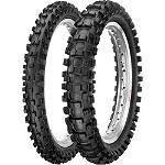 Dunlop 250 / 450F Tire Combo - Dunlop Dirt Bike Dirt Bike Parts