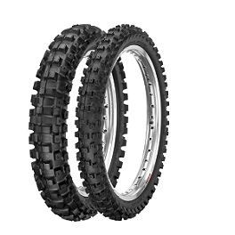 Dunlop 50 Geomax MX51 Tire Combo - 2004 Honda CRF50F Kings Tube 2.50 Or 2.75-10