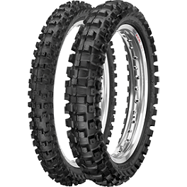 Dunlop 60 / 65 MX51 Front / Rear Tire Combo - 2011 Kawasaki KLX110 Maxxis Maxxcross IT 60/65 Tire Combo