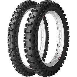 Dunlop 80 / 85 Tire Combo - 2012 Honda CRF150R Sunstar Chain & Steel Sprocket Combo