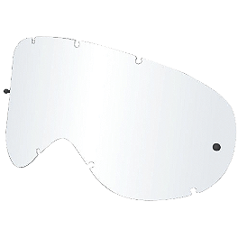 Dragon MDX All Weather Lens With Posts - Dragon MDX Anti-Fog Treated Lens