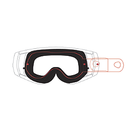 Dragon MDX Tear-Offs - 20 Pack - Dragon MDX Print Goggles