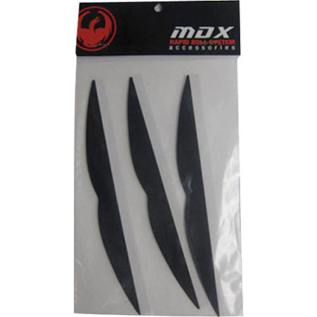 Dragon MDX Rapid Roll Mud Visor - Main