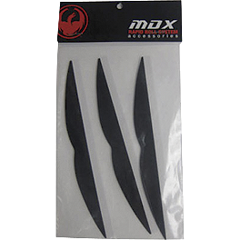 Dragon MDX Rapid Roll Mud Visor - Dragon MDX Rapid Roll Lens Clear