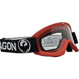 Dragon Youth MX Goggles - Solids - Dragon MX Youth Lens
