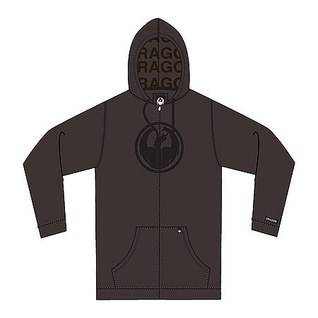 Dragon Icon Zip Hoody - Main
