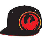 Dragon Risen Fitted Hat - Dragon Dirt Bike Mens Casual