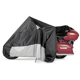 Dowco EZ Zip Motorcycle Cover - CoverMax Deluxe High Exhaust Pipe Motorcycle Cover