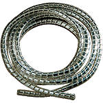 "Drag Specialties Chrome Cable/Wire Covering - 3/16"" - Drag Specialties Cruiser Controls"